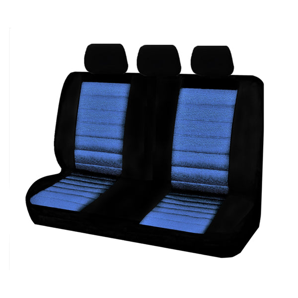 Universal Ice Mesh Rear Seat Covers Size 06/08Z - Blue