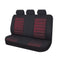 Universal Ice Mesh Rear Seat Covers Size 06/08Z - Red