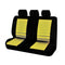 Universal Ice Mesh Rear Seat Covers Size 06/08Z - Yellow