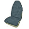 Universal Throwover 20mm Thick Pile Sheepskin Seat Cover - Silver Grey