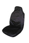 Universal Supreme Throwover Seat Cover Canvas - Black