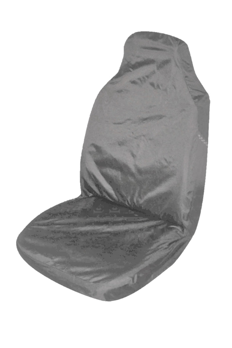 Universal Supreme Throwover Seat Cover Canvas - Grey