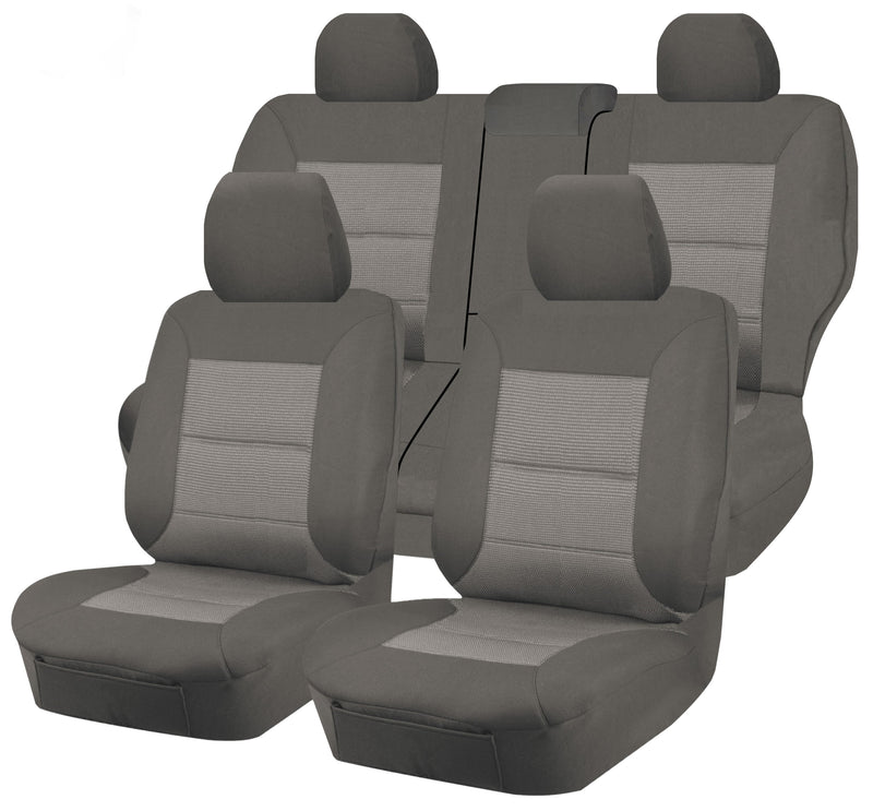 Premium Car Seat Covers For Nissan Xtrail T32 Series I-Ii 2014-2020 4X4 Suv/Wagon 5-Seater | Grey