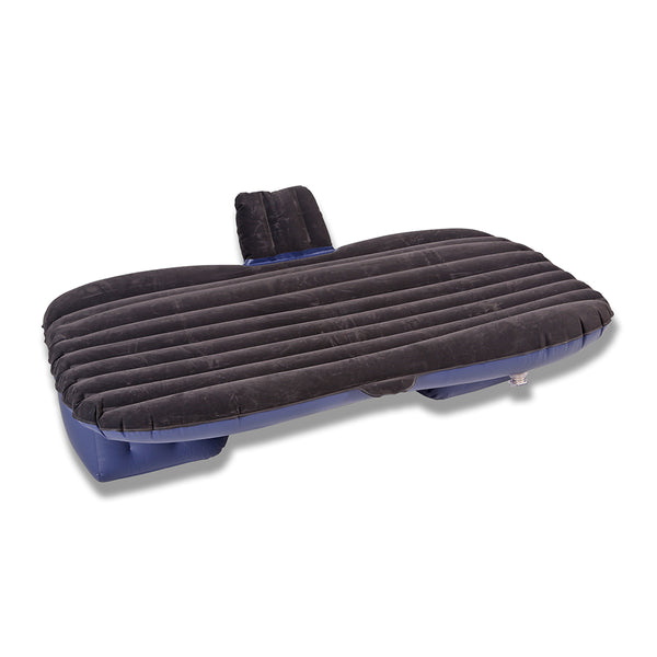 Inflatable Car Back Seat Mattress Protable Travel Camping Air Bed Rest Sleeping -Black