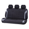 Universal Ultra Light Neoprene Rear Seat Covers Size 06/08H - Black / Grey