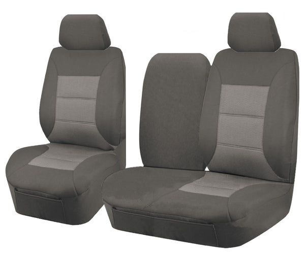 Tailor Made Premium Seat Covers for HYUNDAI ILOAD TQ 1-5 SERIES 08/2008–ON SINGLE/CREW CAB UTILITY VAN GREY