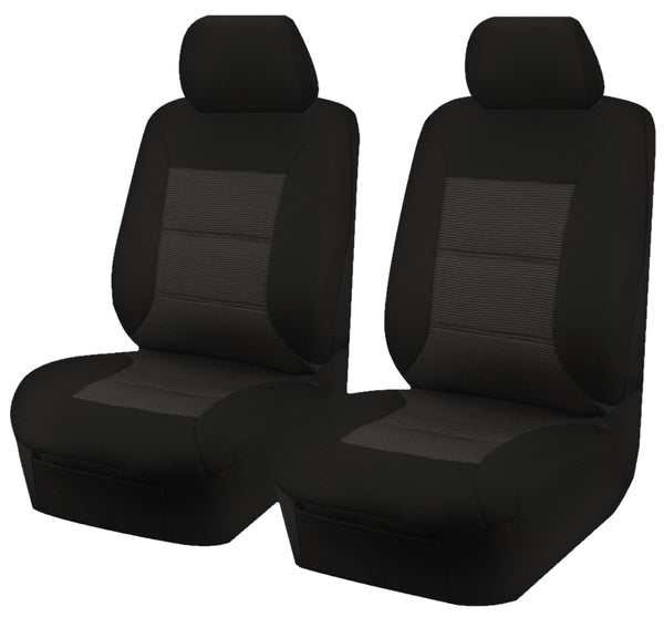 Tailor Made Premium Seat Covers for MITSUBISHI TRITON MQ-MR SERIES 01/2015-ON SINGLE/CLUB CAB Front Only