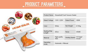 Sealer food Vacuum  Packaging