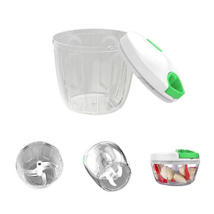 Manual Food Chopper Vegetable Chopper Fruits