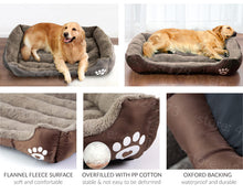 Load image into Gallery viewer, Pet Dog Bed Warming Dog House Soft Material