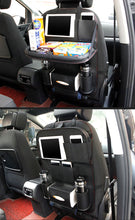Load image into Gallery viewer, Backseat Holder Back Seat tray Pockets Folding