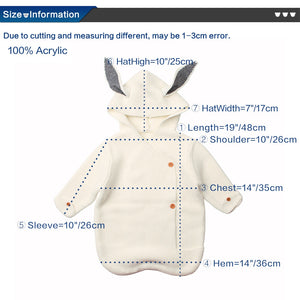 Baby Sleeping Bags Winter Warm Toddler Infant