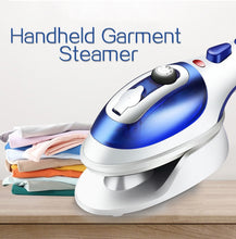 Load image into Gallery viewer, Steam Iron Fast Heat Up Fabric Steamer
