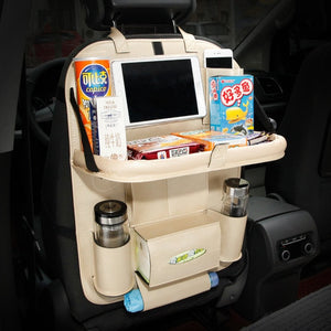 Backseat Holder Back Seat tray Pockets Folding