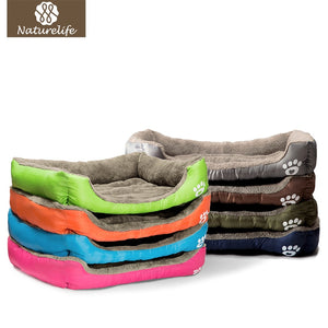 Pet Dog Bed Warming Dog House Soft Material