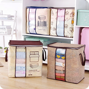 Clothes Storage Bag  Pillow Quilt Blanket Bedding