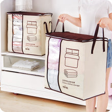 Load image into Gallery viewer, Clothes Storage Bag  Pillow Quilt Blanket Bedding