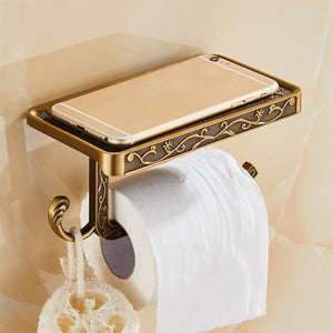 Tissue holder with Mobile Phone Holder