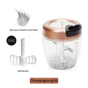 Manual Food Chopper Onion Vegetable Meat