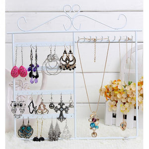 Jewelry stand Earrings  Necklace Jewelry Display Rack