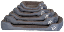 Load image into Gallery viewer, S-3XL 9 Colors Paw Pet Sofa Dog Beds Waterproof Bottom Soft Fleece Warm Cat Bed House