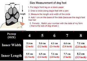 Pet Dog Shoes For Sports Mountain Wearable For Pets PVC Soles Waterproof Reflective Dog Boots Perfect for Small Medium Large Dog