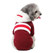 Load image into Gallery viewer, Pink Dog Clothes Winter French Bulldog Dog Clothes For Small Dogs Warm Outfit Pugs Clothing For Chihuahua Clothes Pet 38S2