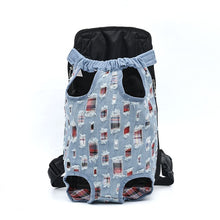 Load image into Gallery viewer, HOOPET Carrier for Dogs Pet Dog Carrier Backpack Mesh Outdoor Travel Products Breathable Shoulder Handle Bags for Small Dog Cats
