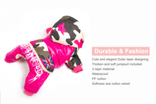 Load image into Gallery viewer, Pet Dog Clothes Winter Warm Fur Coats Waterproof Jacket Puppy Coat For French Bulldog Chihuahua Small Dogs Pets Clothing PETASIA