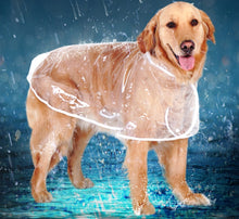 Load image into Gallery viewer, HOOPET Dog Raincoat big Dog Medium-sized Dogs Pet Waterproof Clothing Jacket Clothes Puppy Casual