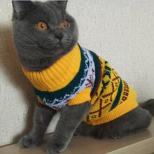 Load image into Gallery viewer, Petalk Snowflower Cat Sweater Knitwear Pet Jumper Coat Dogs Cat Christmas  Dog Clothes for Small Pet XS S M L XL XXL