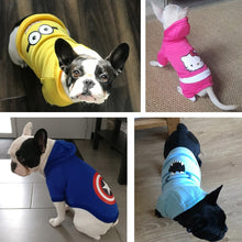 Load image into Gallery viewer, Cartoon Dog Hoodie Pet Dog Clothes For Dogs Coat Jacket Cotton Pets Clothes