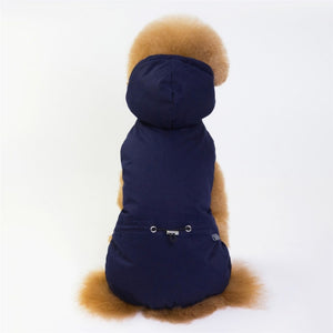 Dog Clothes Winter Warm Pet Dog Jacket Coat Puppy Chihuahua Clothing Hoodies For Small Medium Dogs Puppy Yorkshire Outfit S-XXL