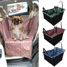 Load image into Gallery viewer, Pet Carriers Dog Car Seat Cover Carrying for Dogs Cats Mat Blanket Rear Back Hammock Protector Waterproof Dog Car Accessories
