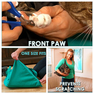 Pack Soft Pet Bags Cat Carrier Travel Pouch Multi-function Cat Sling Carrier Bag Travel Tote Backpack for Pets