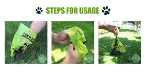 Biodegradable Dog Poop Bags Earth-Friendly 48 Rolls 720 Counts Multiple Colors Blue Green Pink Lavender Scented Garbage Bag