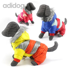 Load image into Gallery viewer, Winter Pet Dog Clothes Super Warm Down Jacket For Small Dogs Waterproof Pets Coat Cotton Hoodies For Chihuahua Puppy Clothing