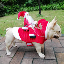 Load image into Gallery viewer, Christmas Dog Clothes Santa Dog Costumes for Small Medium Large Dogs Santa Claus Dog Costume