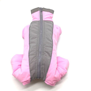 Waterproof Dog Jacket Clothing For Cold Weather with Reflective Safety Feature Winter Warm Cotton Jacket for Small Dogs