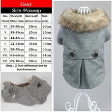 Load image into Gallery viewer, Various Luxury Winter Dog Coat Warm Princess Pet Dog Dress Coat Pet Overalls Winter Dog Clothes Clothing for Dogs Small Pet