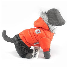 Load image into Gallery viewer, Winter Dog Jacket Snowsuit Super Warm Dog Jacket Thicker Cotton Coat Waterproof for Small Dogs