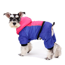 Load image into Gallery viewer, Reflective Dog Clothes Coat Warm Dogs Winter Coat Jacket Pet Clothing French Bulldog Dogs Outfit Jumpsuit