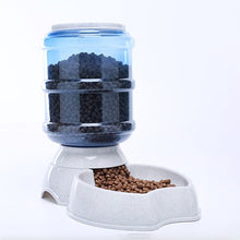 Load image into Gallery viewer, 3.8l Automatic Pet Feeder Dog Cat Drinking Bowl Dog Water Drinking Cat Feeding Large Capacity Pet Drinking Fountains