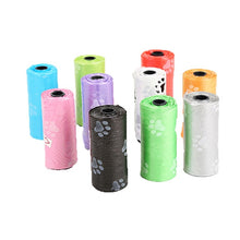 Load image into Gallery viewer, Pet Dog Poop Bags Dispenser Collector Scoop Holder Puppy Cat Pooper Scooper Bag Small Rolls Outdoor Clean Pets Supplies