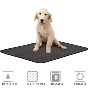 Washable Dog Pet Diaper Mat Urine Absorbent Environment Protect Diaper Mat Waterproof Reusable Training Pad Dog Car Seat Cover
