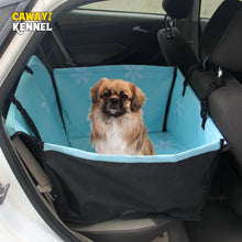 Load image into Gallery viewer, CAWAYI KENNEL Pet Carriers Dog Car Seat Cover Carrying for Dogs Cats Mat Blanket Rear Back Hammock Protector