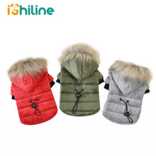 Load image into Gallery viewer, XS-XL Warm Small Dog Clothes Winter Dog Coat Puppy Outfits For Chihuahua Yorkie Dog Winter Clothes Pets Clothing