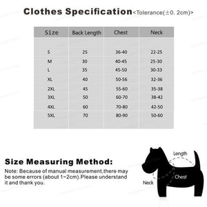 MySudui Warm Autumn And Winter Clothing For Dogs Waterproof Winter Pet Dog Clothes For Small Large Pets Dogs French Bulldog