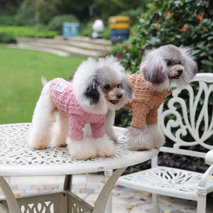 Pet Cat Warm Winter Classic Sweaters For Large Small Dogs Cat Clothing Pet Dog Coat Sweater Dogs Jacket Chihuahua