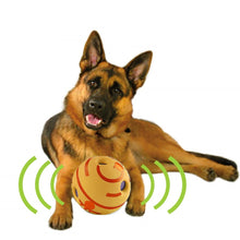 Load image into Gallery viewer, Dog Toy Fun Giggle Sounds Ball Pet Cat Dog Toys Silicon Jumping Interactive Toy Training Ball For Small Large Dogs
